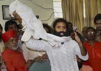 Ramdev in his lovely Salwar Suit